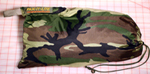 RECONMN CAMP HAMMOCK'S ATTACHED STUFF SACK IN WOODLAND CAMO