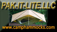 PAK-IT-LITE Camp Hammocks